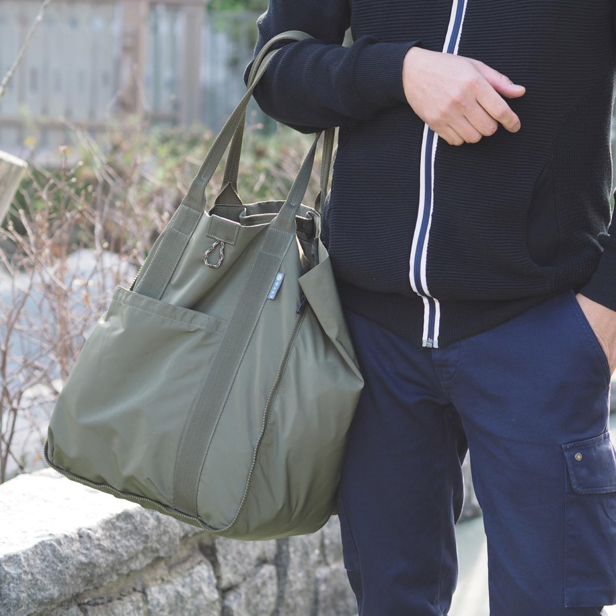 Transform Zipper Bag